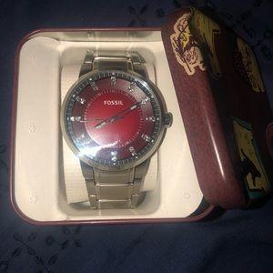 Men's Stainless Steel Fossil watch FS4901